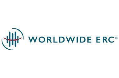 WORLDWIDE ERC logo on white background